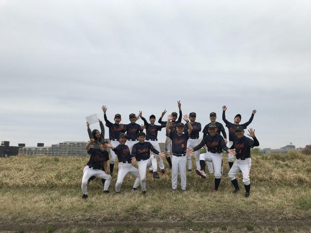 野球部() ()初戦突破☆
